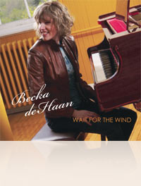 Becka deHaan - Wait for the Wind CD cover